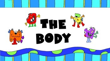 The Monsters – The Body ESL Vocabulary Presentation