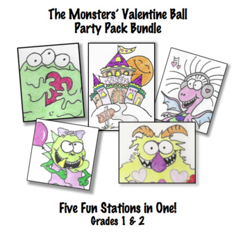 The Monsters' Valentine Ball Party Pack Bundle!