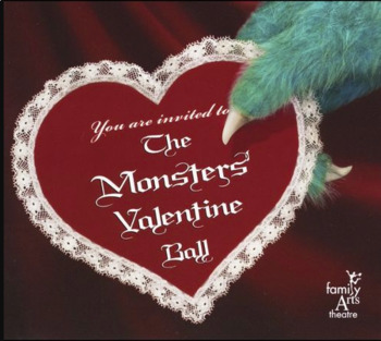 Monsters' Valentine Ball Party Pack - Station 3 Slime Time Science