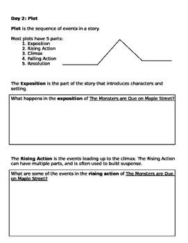 The Monsters are Due on Maple Street: Teaching Packet and Assessment