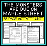 The Monsters are due on Maple Street- ELA, AVID, Theatre