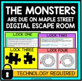 The Monsters are due on Maple Street Digital Escape Room