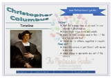 The Montessori Garden Timeline: Christopher Columbus