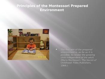 The Montessori Prepared Environment