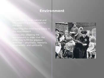 The Montessori Prepared Environment