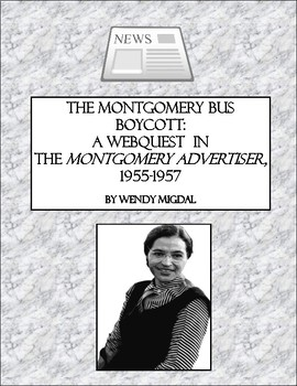 The Montgomery Bus Boycott:  A Webquest