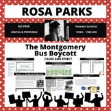 The Montgomery Bus Boycott Digital or Printable Activities