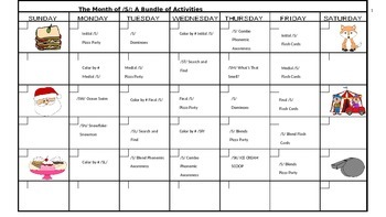 The Month of /S/: 20 Activities to Promote Articulation of /S/ & /S/ Blends