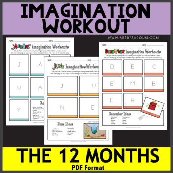 The 12 Months Imagination Workout