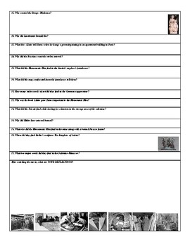 The Monuments Men Movie Companion Worksheet