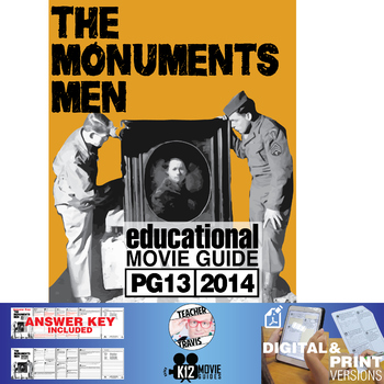 The Monuments Men Movie Guide | Questions | Worksheet (PG13 - 2014)