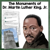 Close Reading - The Monuments of Dr. Martin Luther King, Jr.
