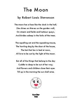 The Moon - A poem by Robert Louis Stevenson