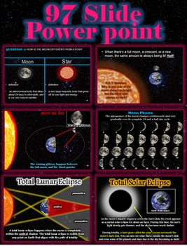 The Moon Bundle Unit - Comprehensive 6 Lesson Unit, Powerpoint & More