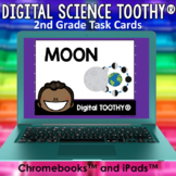 The Moon Digital Science Toothy ® Task Cards | Distance Le