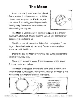 The Moon (Earth & Space Science/Moon)