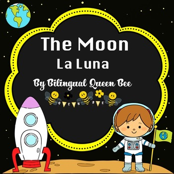 The Moon/ La Luna Writing Papers