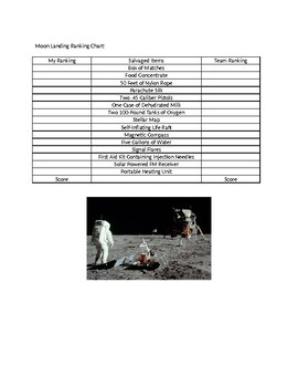 The Moon Landing:  Answers