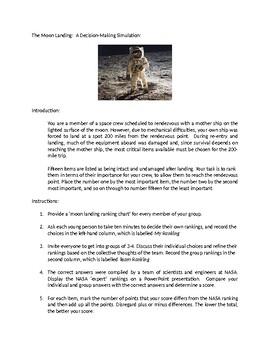 The Moon Landing Assignment