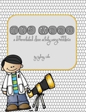 The Moon PebbleGo Cloze Paragraph Differentiated Activity