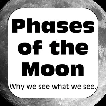 Moon Phases: Phases of the Moon Worksheet