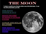 The Moon PowerPoint Presentation-Phases, Features, Eclipses, &Tides