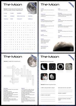 The Moon - Puzzles & Glossary