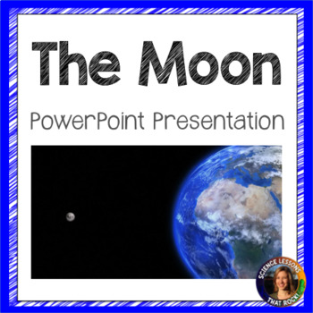 The Moon SMART notebook presentation