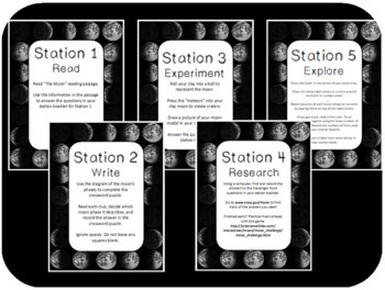 The Moon Science Stations