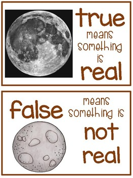The Moon - True or False