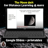 The Moon Unit for Special Ed for google classroom | Distan