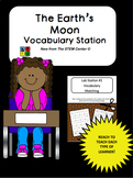 The Moon Vocabulary Station