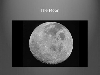 Moon Phases and Facts PowerPoint Presentation