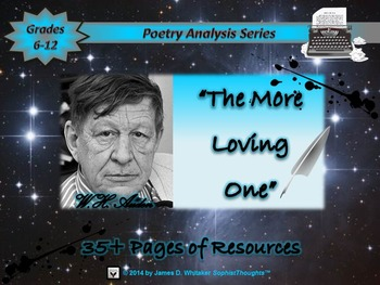 The More Loving One by W.H. Auden Poem Analysis