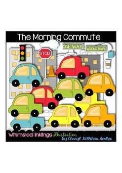 The Morning Commute Clipart Collections