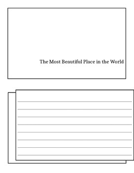 The Most Beautiful Place in the World by Ann Cameron - Questions about the Text