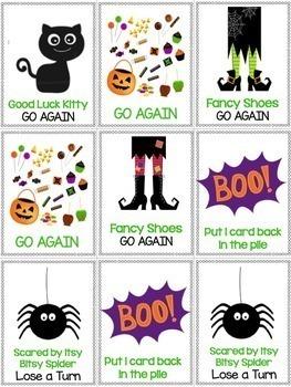 Halloween Game: Long Vowels & Vowel Team Word Work