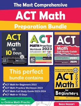 The Most Comprehensive ACT Math Preparation Bundle