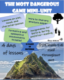 The Most Dangerous Game  Activities: 4 Day Unit Plan