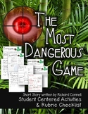 THE MOST DANGEROUS GAME ACTIVITIES AND RUBRIC CHECKLIST STUDENT CENTERED