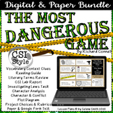 Most Dangerous Game - CSI Style, Test, Plus Much More!