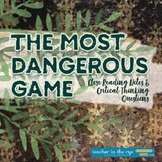 The Most Dangerous Game Close Reading Notes, Questions & Quiz {CCSS}