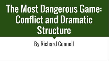 The Most Dangerous Game: Conflict and Dramatic Structure