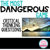 """""""Most Dangerous Game"""" Critical Thinking Guide"""
