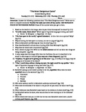 The Most Dangerous Game Guided Reading Questions