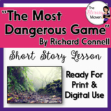 The Most Dangerous Game by Richard Connell Adapted Text: Focus on Plot, Setting