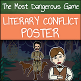 The Most Dangerous Game: Literary Conflict Poster