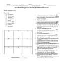 The Most Dangerous Game Magic Square Activity