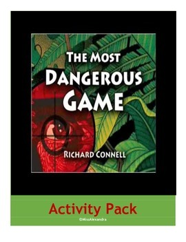 The Most Dangerous Game Movie Guide and Short Story Activities