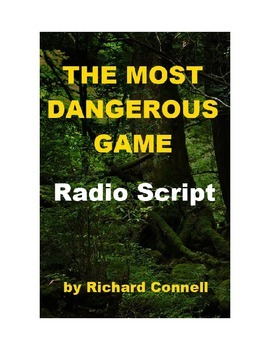 The Most Dangerous Game - Script and mp3